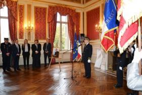 Cérémonie commémorative d'hommage national en l'honneur du préfet Claude Erignac