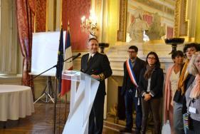 Cérémonie de naturalisation et de déclaration de nationalité française à la préfecture de l'Hérault