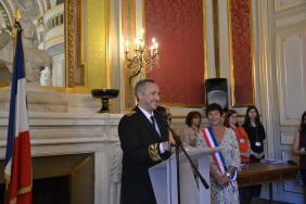 Cérémonie de naturalisation et de déclaration de nationalité française