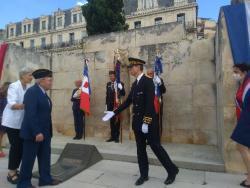 Commémoration du 80ème anniversaire de l'Appel du 18 juin 1940 à Montpellier, Béziers et Lodève