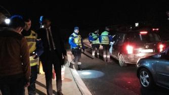 Contrôle alcoolémie de sorties de boites de nuit avec le directeur de cabinet du préfet de l'Hérault