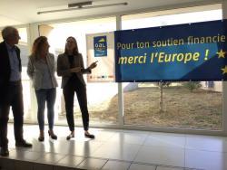 """Déplacement d'Amélie de montchalin dans l'Hérault : """"l'Europe du concret"""""""