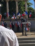 Jacques Witkowski, préfet de l'Hérault préside le 76ème anniversaire de la Libération de Montpellier