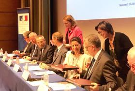 La Ministre des solidarités et de la santé, Agnès Buzyn, en visite officielle à Montpellier