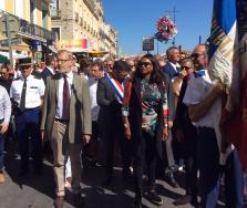 Laura Flessel, Ministre des Sports, en visite officielle à Sète et à Lunel