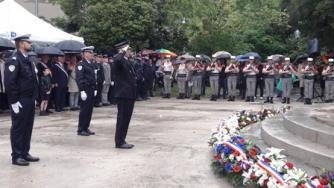 Pascal Otheguy participe à la commémoration de la victoire du 8 mai 1945