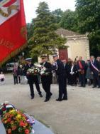 Pascal Otheguy préside la cérémonie d'hommage aux victimes de la déportation