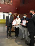 Remise de certifications norme qualité : le préfet de l'Hérault visite l'entreprise adaptée PDCA 34