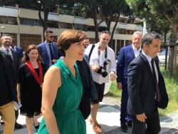 Visite de Christelle Dubos, Secrétaire d'Etat auprès de la ministre des Solidarités et de la Santé