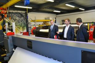 Visite de l'entreprise Duo Industries